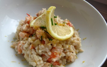 food challenge risotto crevettes life is a voyage