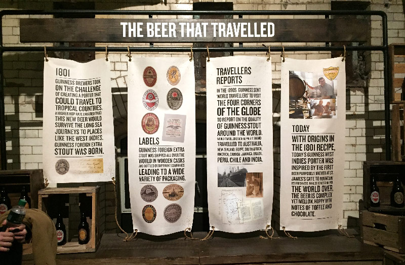 guinness storehouse delub irlande life is a voyage