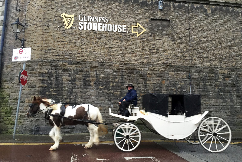 guinness storehouse dublin irlande life is a voyage