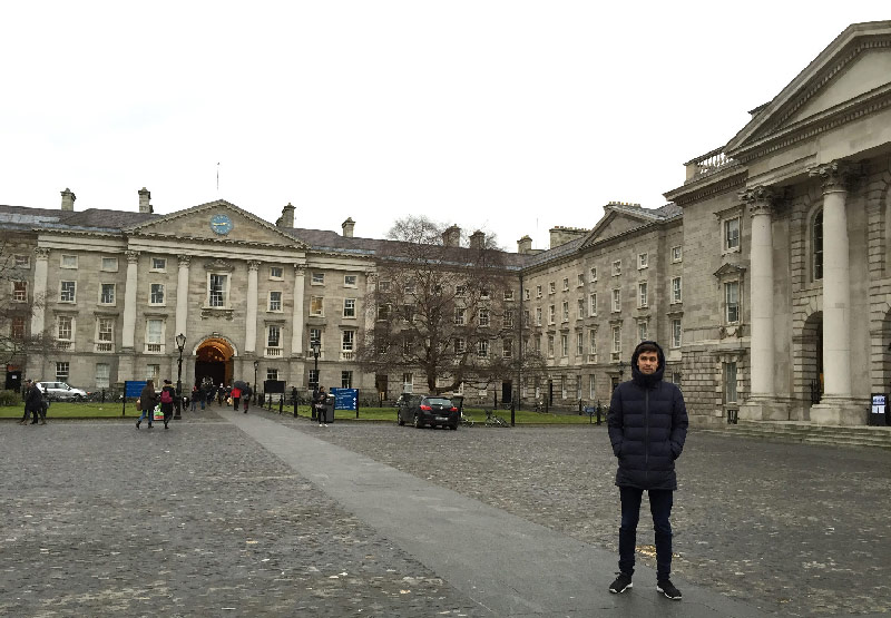 trinity college dublin irlande life is a voyage