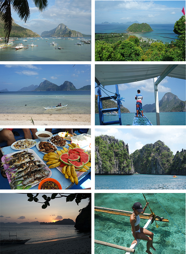 Photos de El nido à Palawan (Philippines)